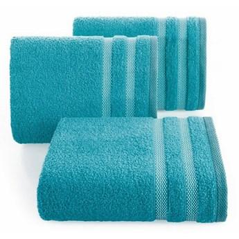 SELSEY Ręcznik bawełniany Tellid 50x90 cm jasny turkusowy
