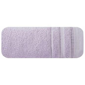 SELSEY Ręcznik bawełniany Ollechio liliowy