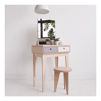 RUNO. toaletka z lustrem ze sklejki w skandynawskim stylu