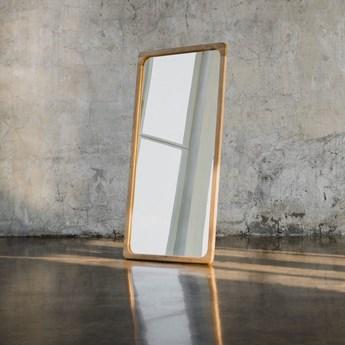 LARK lustro z litego drewna dębowego, polski design