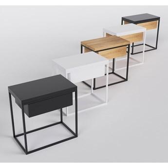 MOONLIGHT minimalistyczny stolik nocny, styl industrialny