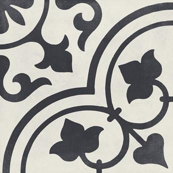 Cuban White Ornate 22,3x22,3 płytka patchworkowa