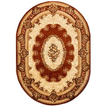 Dywan Owalny Orientalny Klasyczny Brązowy 50636 140 x 190 cm