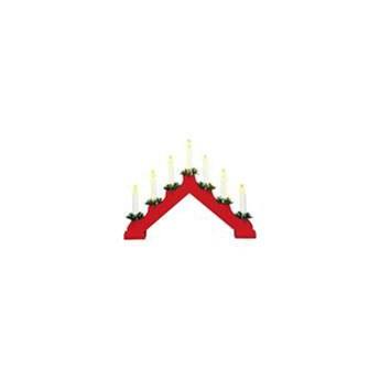 Świecznik stołowy czerwony HOL 8308,120 Markslojd