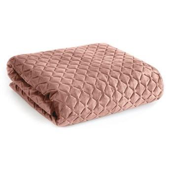 Narzuta na łóżko pudrowy 230X260