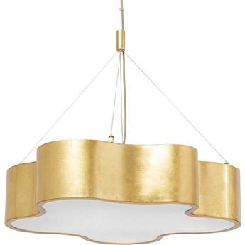 Lampa wisząca Cloud 60x60 cm złota