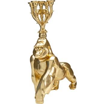 Świecznik Gorilla 56x71 cm złoty