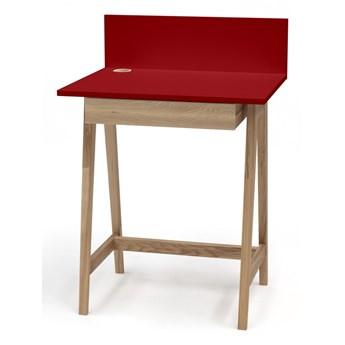 SELSEY Biurko drewniane Luka 65x50 cm z szufladą