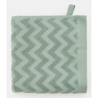 Sinsay - Ręcznik bawełniany - Zielony