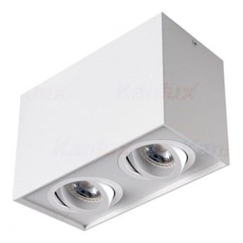 25473 LAMPA NATYNKOWA BIAŁA Oprawa sufitowa punktowa GORD DLP 250-W KANLUX