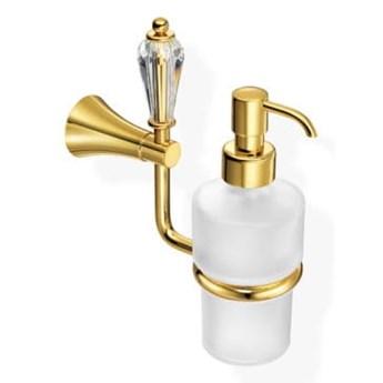 Dozownik na mydło w złocie naścienny DOLCE A5-Z1-16622
