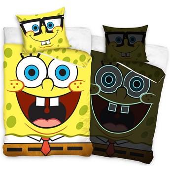 Pościel bawełniana świecąca w ciemności SpongeBob POH-27