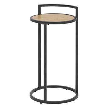SELSEY Stolik kawowy Krapina o średnicy 33 cm pomocnik