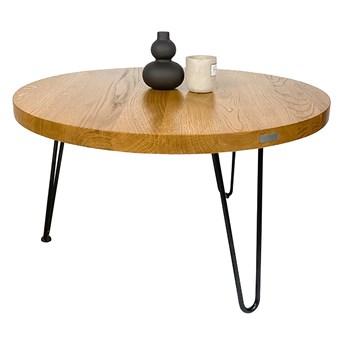 SELSEY Stolik kawowy Modde niski okrągły średnica 70 cm