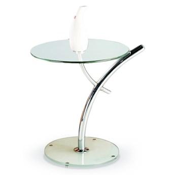 SELSEY Stolik kawowy Martes ze szklanym blatem