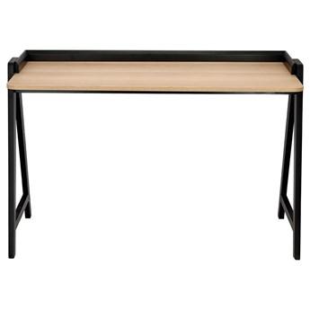 SELSEY Biurko drewniane Athebyne 120x60 cm czarne
