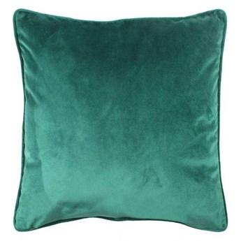 Poduszka VELVET  welurowa kolor zielony 45x45 cm