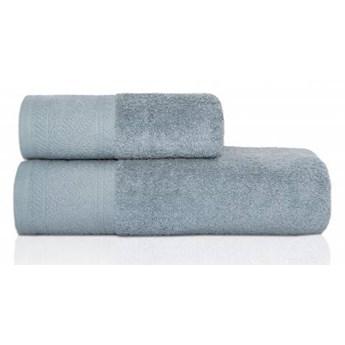 Ręcznik frotte MASSIMO gołębi z przędzy egipskiej, żakardowa 100% bawełna bordiura, 50x90 cm