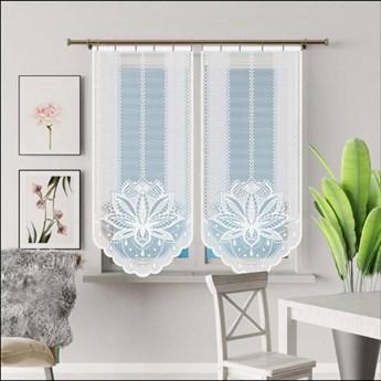 Panel żakardowy DANA kolor biały rozmiar 60x140 cm G673 NIE