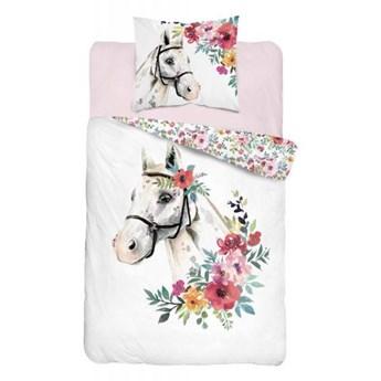 Komplet pościeli dziecięco-młodzieżowej z bawełny, bardzo dobra jakość tkaniny, 160x200 cm 3156A