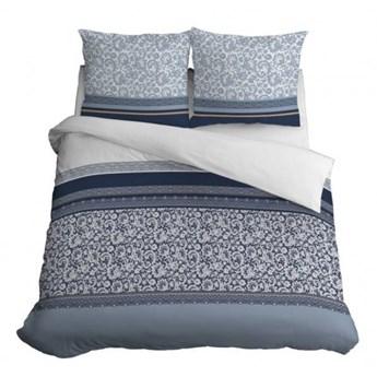 Komplet pościeli z bawełny, bardzo dobra jakość tkaniny, 160x200 cm 3556b