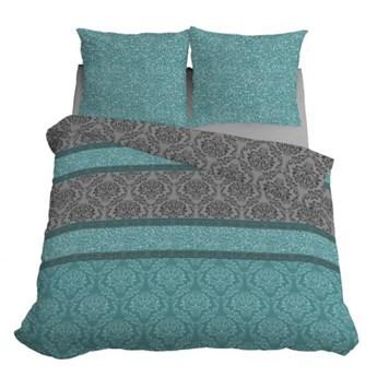 Komplet pościeli z bawełny, bardzo dobra jakość tkaniny, 200x220 cm 3413B