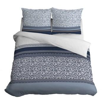Komplet pościeli z bawełny, bardzo dobra jakość tkaniny, 200x220 cm 3556b