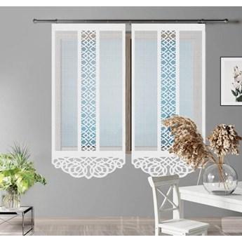 Panel żakardowy PORTOS kolor biały rozmiar 60x160 cm G575