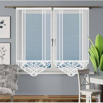 Panel żakardowy ARAMIS kolor biały rozmiar 75x160 cm G584