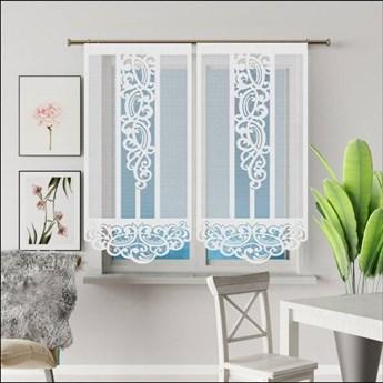 Panel żakardowy ASTOR kolor biały rozmiar 60x140 cm G604