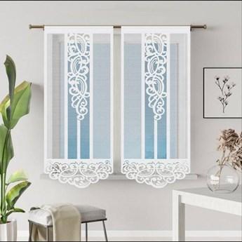 Panel żakardowy ASTOR kolor biały rozmiar 60x160 cm G605