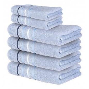 Ręcznik frotte DOL niebieski 100% bawełna 50x90 cm