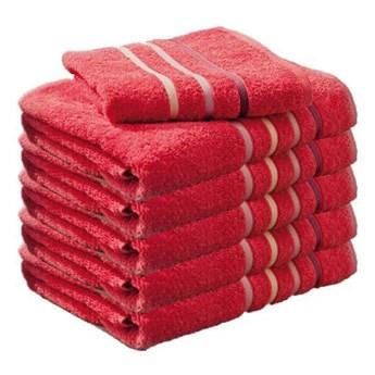 Ręcznik frotte DOL różowy 100% bawełna 70x140 cm