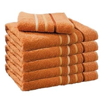 Ręcznik frotte DOL rudy 100% bawełna 50x90 cm