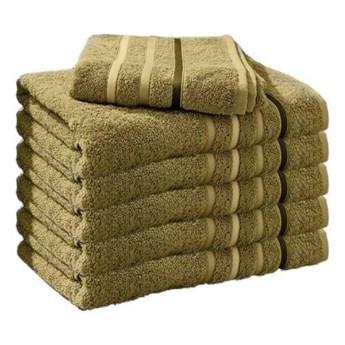 Ręcznik frotte DOL zielony 100% bawełna 50x90 cm