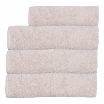 Ręcznik frotte EMI jasny różowy 100% bawełna 50x90 cm