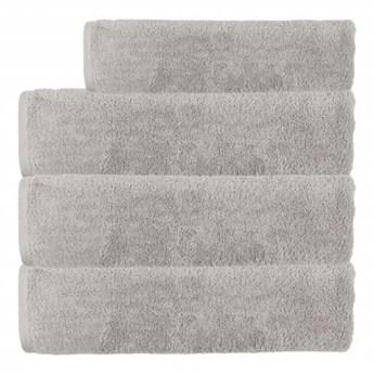 Ręcznik frotte EMI jasno szary 100% bawełna 70x140 cm