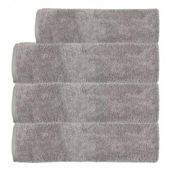 Ręcznik frotte EMI ciemny szary 100% bawełna 50x90 cm