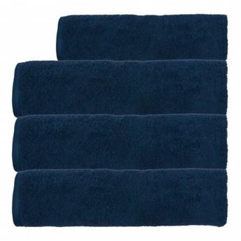 Ręcznik frotte EMI granatowy 100% bawełna 70x140 cm