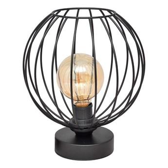 Lampa stołowa MERCURE 1xE27/60W/230V czarna