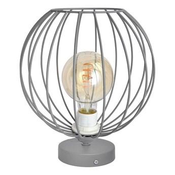Lampa stołowa MERCURE 1xE27/60W/230V szara