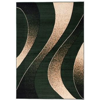 Dywan Nowoczesny Geometryczny Zielony 31905 180 x 250 cm