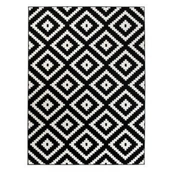 Dywan Nowoczesny Geometryczny Czarno-Biały 38724 120 x 170 cm