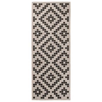 Dywan Sznurkowy Geometryczny Beżowy 35987 80 x 200 cm