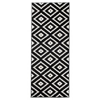 Dywan Nowoczesny Geometryczny Czarno-Biały 39223 70 x 250 cm