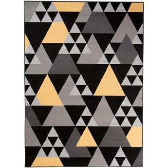 Dywan Nowoczesny Geometryczny Szary 39875 80 x 150 cm