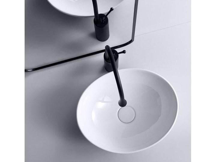 VELDMAN  UMYWALKA CERAMICZNA NABLATOWA VERA Szerokość 41 cm Owalne Meblowe Ceramika Nablatowe Szerokość 45 cm Kategoria Umywalki
