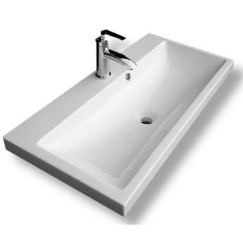 Umywalka nablatowa z lanego marmuru - Vileta
