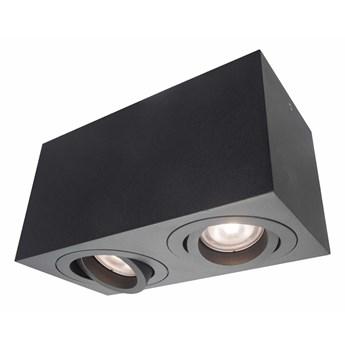 Lyon 2 oprawa natynkowa czarna LP-5881/2SM BK
