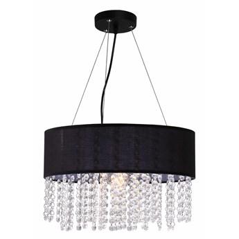 Madryt lampa wisząca czarna LP-81458/1P BK